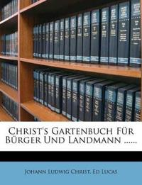 Christ's Gartenbuch