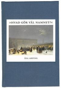Hvad gör väl namnet? : anonymitet och varumärkesbyggande i svensk litteraturkritik 1820-1850