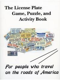 The License Plate Game, Puzzle & Activity Book