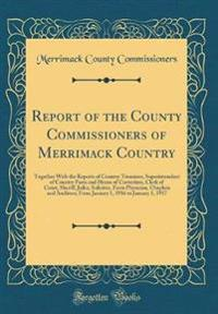 Report of the County Commissioners of Merrimack Country