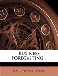 Business Forecasting...
