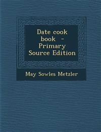 Date Cook Book