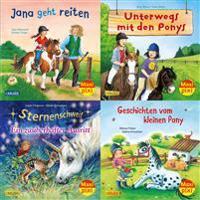 Maxi-Pixi-Serie Nr. 70: Pferde und Ponys (4x5 Exemplare)