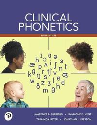 Clinical Phonetics -- Enhanced Pearson Etext -- Access Card