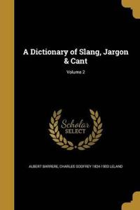 DICT OF SLANG JARGON & CANT V0
