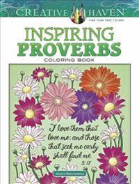 Inspiring Proverbs Coloring Book