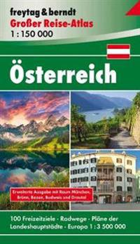 Österreich, Autoatlas 1:150.000, Großer Reise-Atlas