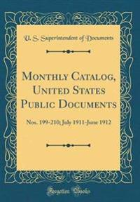 Monthly Catalog, United States Public Documents
