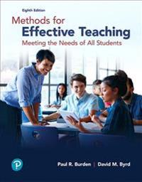 Methods for Effective Teaching: Meeting the Needs of All Students, with Enhanced Pearson Etext -- Access Card Package