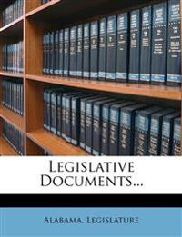 Legislative Documents...
