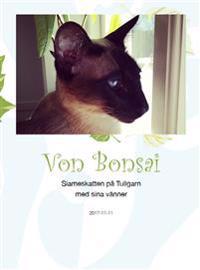 Von Bonsai : siameskatten på Tullgarn med sina vänner