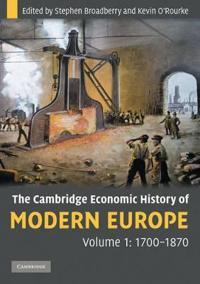 The Cambridge Economic History of Modern Europe
