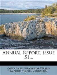 Annual Report, Issue 51...
