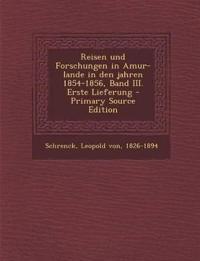 Reisen und Forschungen in Amur-lande in den jahren 1854-1856, Band III. Erste Lieferung