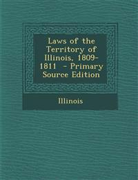 Laws of the Territory of Illinois, 1809-1811