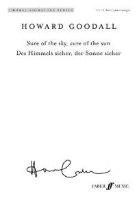 Sure of the Sky, Sure of the Sun: Des Himmels Sicher, Der Sonne Sicher (Satb) (English/German Language Edition), Choral Octavo