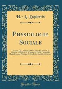 Physiologie Sociale