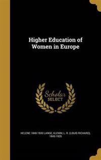 HIGHER EDUCATION OF WOMEN IN E