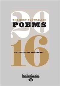 The Best Australian Poems 2016 (Large Print 16pt)