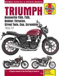 Triumph 900 & 1200, '16-'17 Haynes Repair Manual