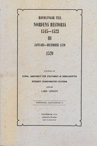 Handlingar till Nordens historia 1515-1523. 3, Januari-december 1520 - Lars Sjödin pdf epub