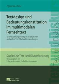 Textdesign Und Bedeutungskonstitution Im Multimodalen Fernsehtext
