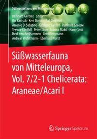 Süßwasserfauna Von Mitteleuropa, Chelicerata