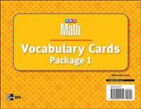 Number Worlds, Vocabulary Card