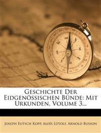 Geschichte der eidgenössischen Bünde, Zweiter Band