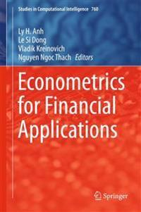 Econometrics for Financial Applications