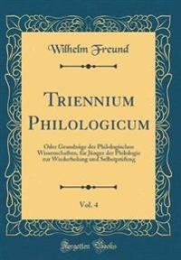 Triennium Philologicum, Vol. 4