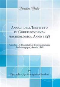 Annali dell'Instituto di Corrispondenza Archeologica, Anno 1848