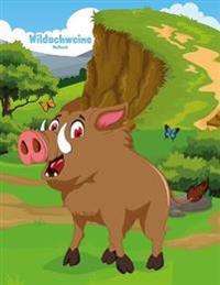 Wildschweine-Malbuch 1