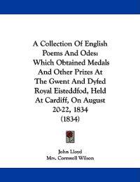 A Collection of English Poems and Odes