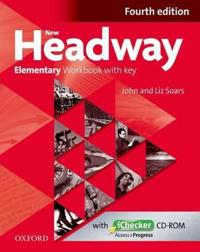 New Headway: Elementary: Workbook + iChecker with Key