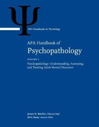 APA Handbook of Psychopathology