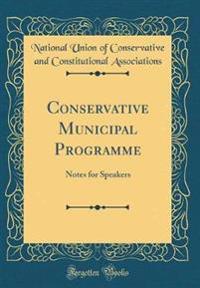 Conservative Municipal Programme