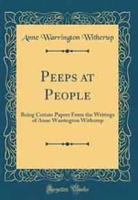 Peeps at People