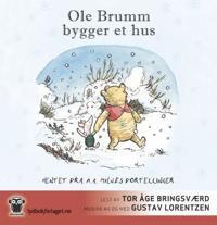 Ole Brumm bygger et hus