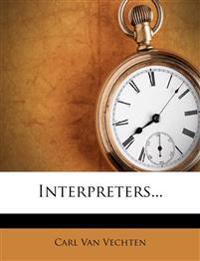 Interpreters...