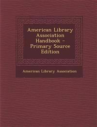 American Library Association Handbook
