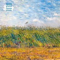 Adult Jigsaw Vincent Van Gogh: Wheatfield with a Lark: 1000 Piece Jigsaw Puzzle