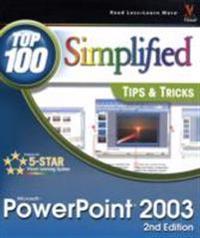 Microsoft Powerpoint 2003 Top 100 Simplified Tips & Tricks