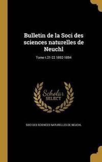 FRE-BULLETIN DE LA SOCI DES SC