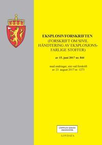 Eksplosivforskriften -  pdf epub