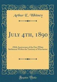 July 4th, 1890