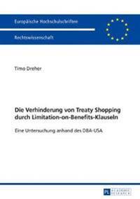 Die Verhinderung von Treaty Shopping durch Limitation-on-Benefits-Klauseln