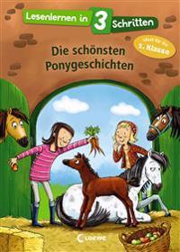 Lesenlernen in 3 Schritten - Die schönsten Ponygeschichten