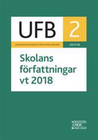 UFB 2 vt Skolans författningar 2018