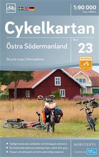 Cykelkartan Blad 23 Östra Södermanland : Skala 1:90.000